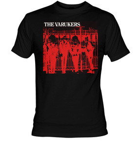 The Varukers - Red Band Small T-Shirt