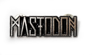 Mastodon - Logo - Metal Badge