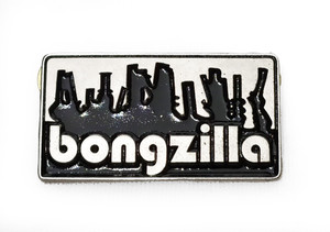 Bongzilla - Bongs - Metal Badge