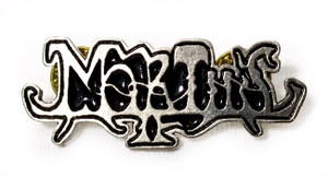 Mortiis - Logo - Metal Badge