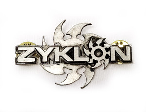 Zyklon - Logo - Metal Badge