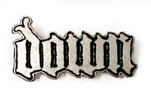 Down - Logo - Metal Badge Pin