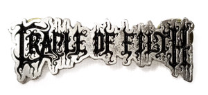 Cradle of Filth - Logo - Metal Badge