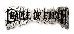 Cradle of Filth - Logo - Metal Badge