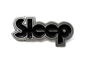 Sleep - Logo - Metal Badge