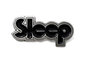 Sleep - Logo - Metal Badge