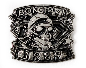 Bon Jovi - 1989 - Metal Badge Pin