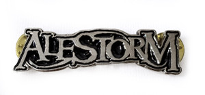 Alestorm - Logo - Metal Badge
