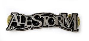 Alestorm - Logo - Metal Badge Pin