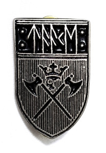 Taake - Shield Logo - Metal Badge