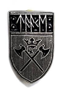 Taake - Shield Logo - Metal Badge