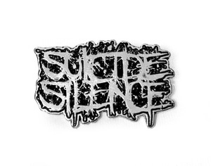 Suicide Silence - Logo - Metal Badge
