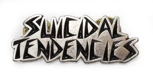 Suicidal Tendencies - Logo - Metal Badge