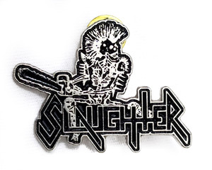 Slaughter - Logo - Metal Badge
