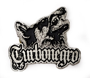 Turbonegro - Wolf - Metal Badge
