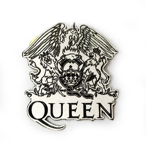 Queen - Eagle & Lions - Metal Badge