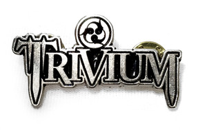 Trivium - Logo - Metal Badge