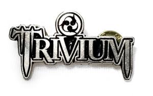 Trivium - Logo - Metal Badge Pin