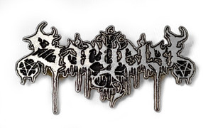 Sargeist - Logo Metal Badge