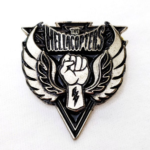 The Hellacopter - Fist Logo Metal Badge Pin
