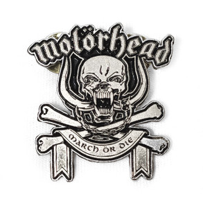 Motorhead - March or Die Metal Badge