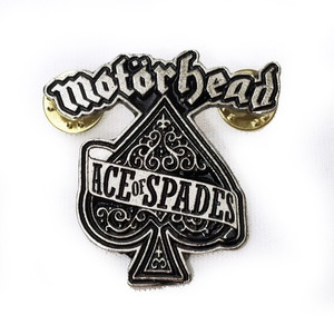 Motorhead - Ace of Spades Metal Badge Pin