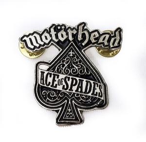 Motorhead - Ace of Spades Metal Badge