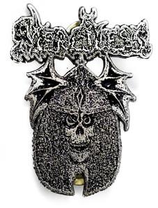 Merciless - Skull Metal Badge Pin