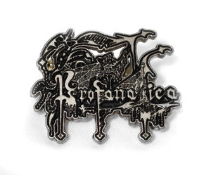 Profanatica - Logo Metal Badge