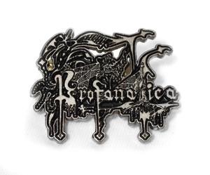 Profanatica - Logo Metal Badge Pin
