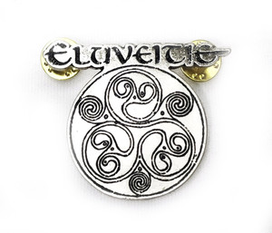 Eluveite - Circular Logo Metal Badge