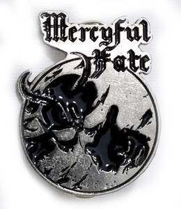 Mercyful Fate - Don't Break the Oat Metal Badge Pin