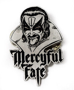 Mercyful Fate - Face Metal Badge