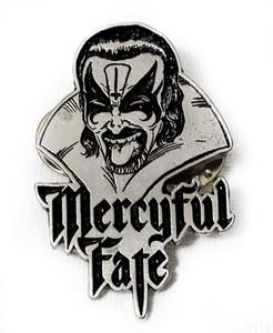 Mercyful Fate - Face Metal Badge