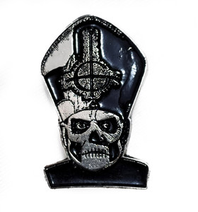 Ghost - Papa Emeritus II Metal Badge