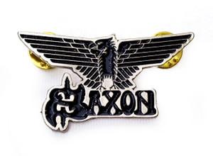 Saxon - Eagle Logo Metal Badge Pin