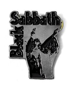 Black Sabbath - Vol 4 Chrome Logo Metal Badge