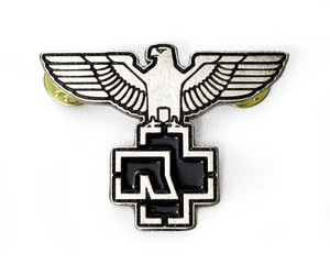 Rammstein - Shield Logo Logo Metal Badge Pin