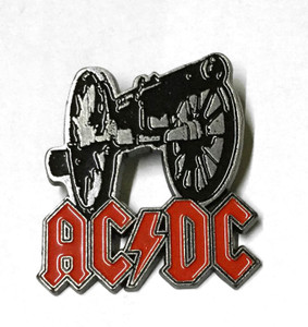 "AC/DC - For Those About to Rock 2"" Metal Badge"