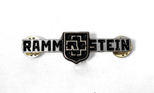 Rammstein - Coat of Arms Logo Metal Badge