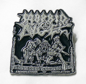 Morbid Angel - Abominations of Desolation Metal Badge
