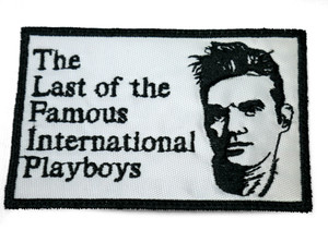 """Morrissey - International Playboys 4X3"""" Embroidered Patch"""