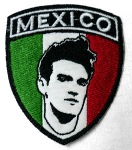 """Morrissey México 3X4"""" Embroidered Patch"""