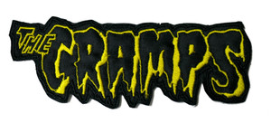 "Cramps - Logo 5X2"" Embroidered Patch"
