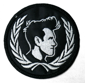 """Morrissey - Laurel 3X3"""" Embroidered Patch"""