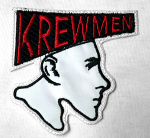 "Krewmen - Logo 3X3"" Embroidered Patch"