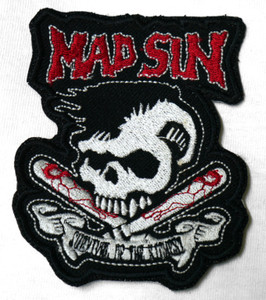 "Mad Sin - Survive 3X4"" Embroidered Patch"