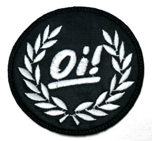"Oi! - Laurel 3X3"" Embroidered Patch"