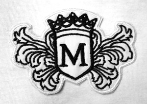 """Morrissey - Coat Of Arms 4X3"""" Embroidered Patch"""