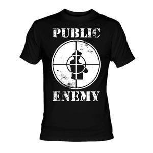Public Enemy - Target T-Shirt